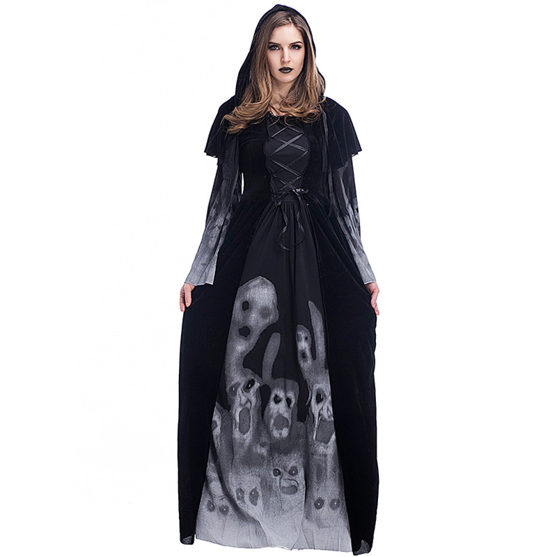 Vampire Cosplay Set Halloween Scary Costumes