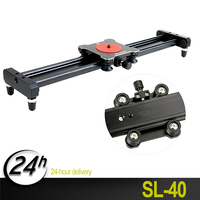 Hot sale Ulanzi Newest 40cm/16in Aluminum Alloy Smooth Camera Track Slider Video Stabilizer Rail with Stabilizing Photograph