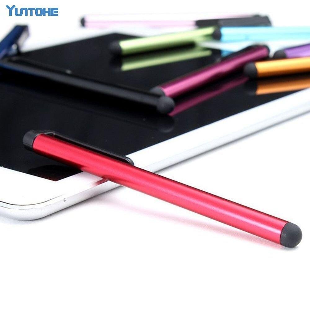 Wholesale 1000pcs lot Universal Capacitive Stylus Pen for Iphone 7 6 5 5S Touch Pen for