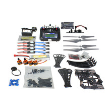 JMT DIY RC Drone Quadrocopter RTF With Gimbal Frame Kit QQ Super FS-i6 Remote controller