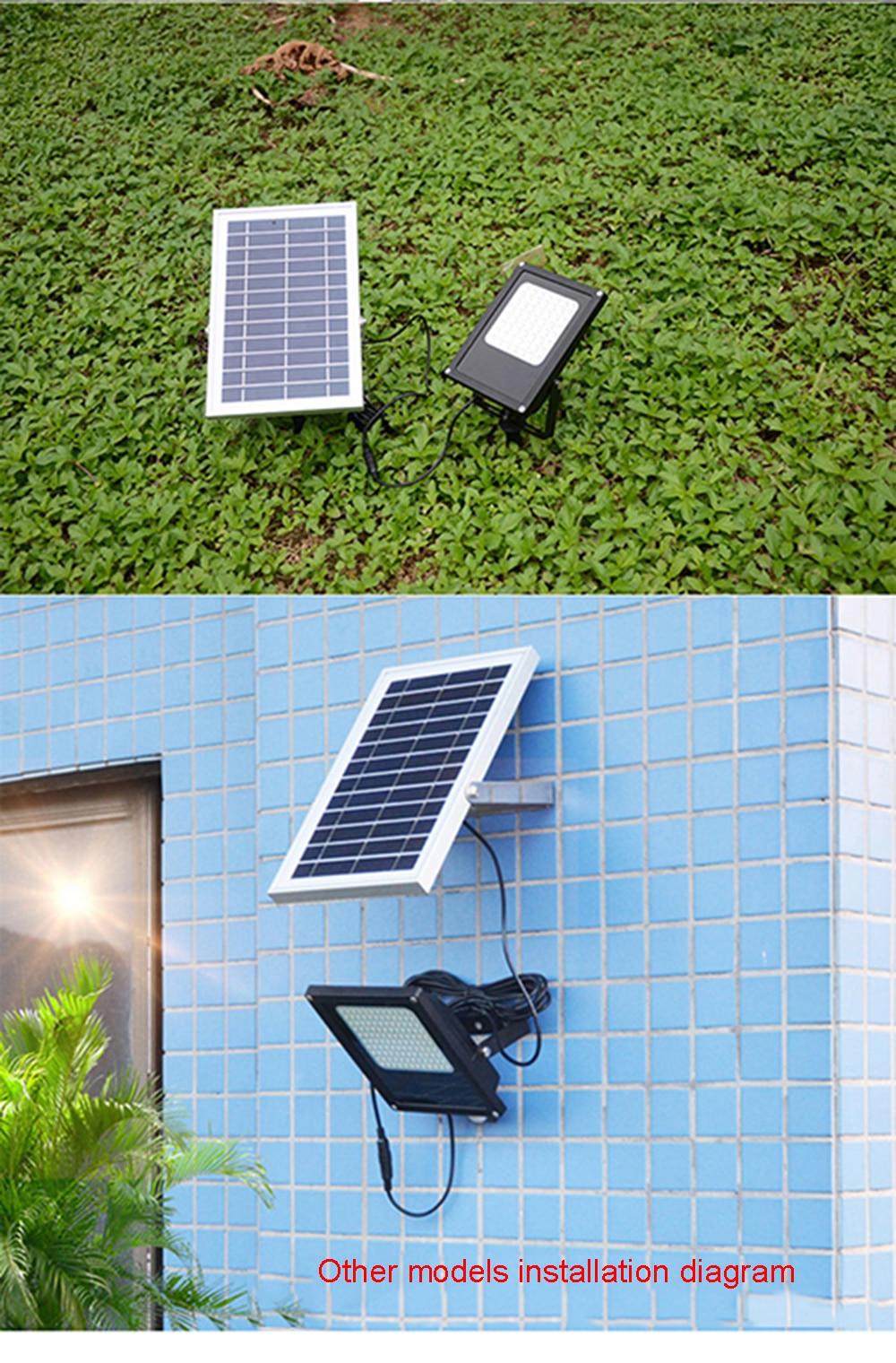 Lâmpada Solar Do Jardim luz Solar luzes