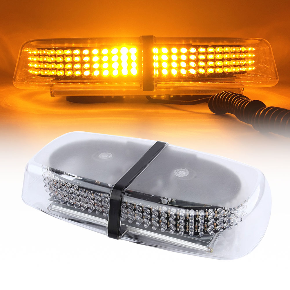 2pcs LED Flashing Light Warning Hazard Emergency Beacon Strobe Blue
