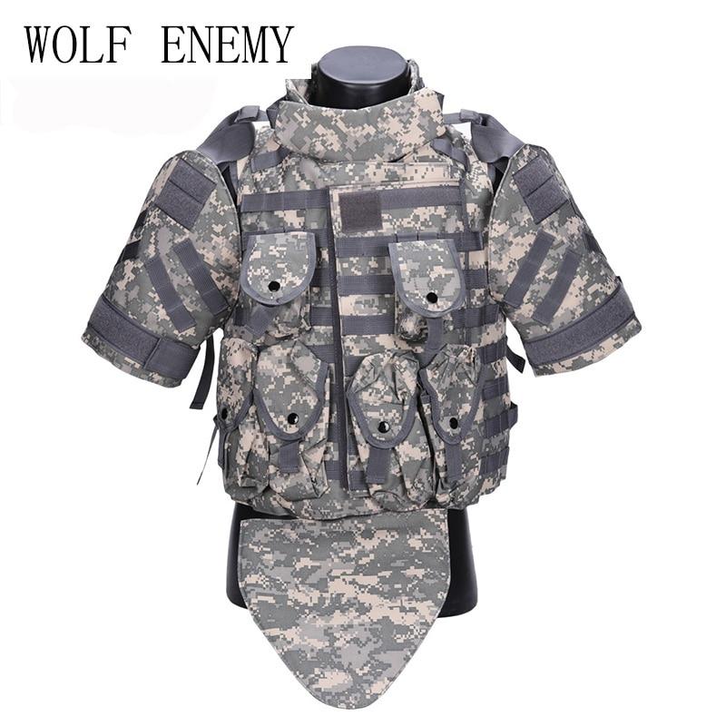 Combat Vest Army Outerdoor CS Cosplay OTV Tactical Camouflage Vest Military Molle Combat CS Typhon Highlander Vest