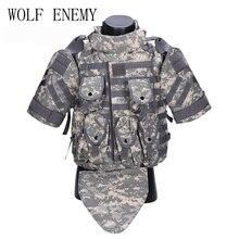 Kampfweste Armee Outerdoor CS Cosplay OTV Tactical Camouflage Weste Militär Molle CS Typhon Highlander Weste