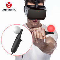 Free Shipping Original 2pcs Lot ANTVR VR USB Remote Controllers For ANTVR VR Cyclop Helmet