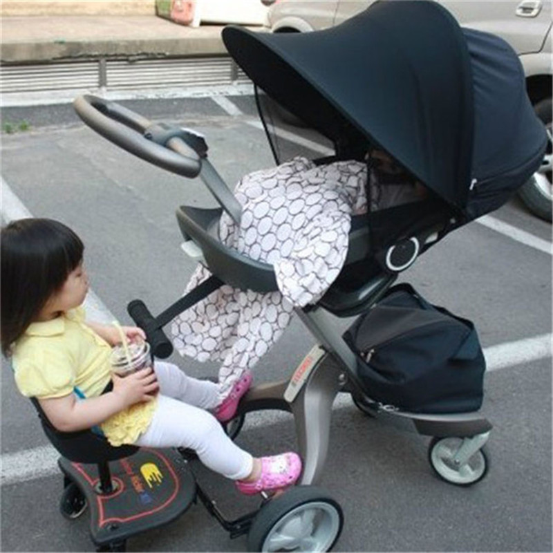1PC Baby Stroller Sun Canopy Shade Awning Cove Sunshade Protection Hoods Buggy Accessories In Strollers From