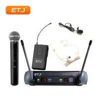 Sistema de Microfone UHF Sem Fio profissional PGX24/BETA58 PGX14 PGX4 PGX2 PGX MIC Para A Fase Conjunto Completo Microfones     -