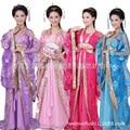 Китайский Традиционный Женщины Hanfu Dress Китайский Фея Платья танец костюм Hanfu Одежды Династии Тан Древний Костюм L174