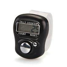 Бренд 1 шт. хороший стежок маркер и счетчик строк ЖК-дисплей Электронные Цифры палец кольцо цифровой Tally счетчик кликер таймер