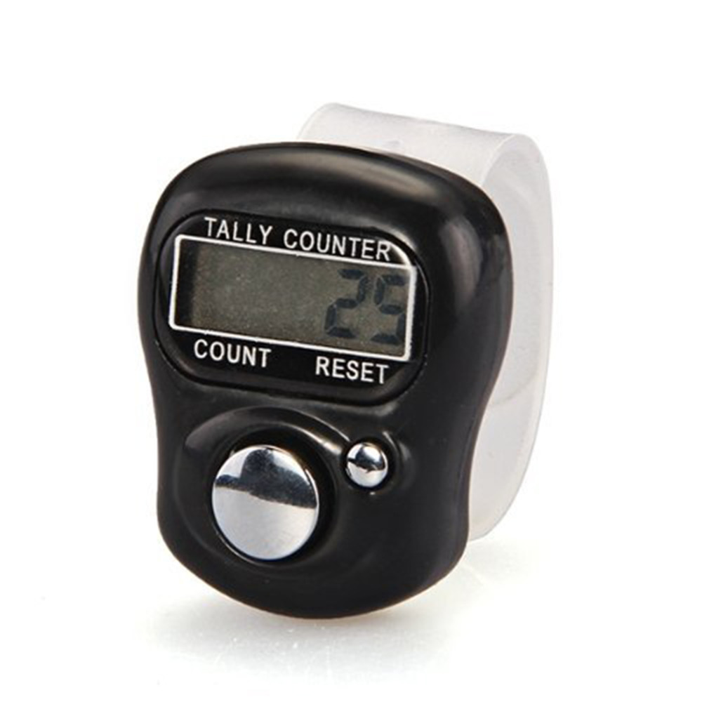 New Brand 1pc Nice Stitch Marker and Row Counter LCD Electronic Digit Finger Ring Digital Tally Counter Clicker Timer(China)