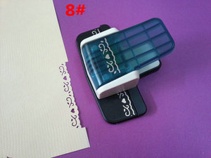 Image 5 - free ship 1PC new fancy border punch  craft punch scrapbooking handmade popular embossing punch for DIY foam paper punch