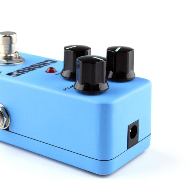 Mini Guitar Effect Pedal Guitarra Overdrive Booster High-Power Tube Guitar Simulation Chorus Effect Device FCH-2