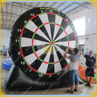 Giant PVC Darts Football Inflatable Foot Darts Carnival Game Soccer Dart , Inflatable Dart Board ,Big Balls Blower Included
