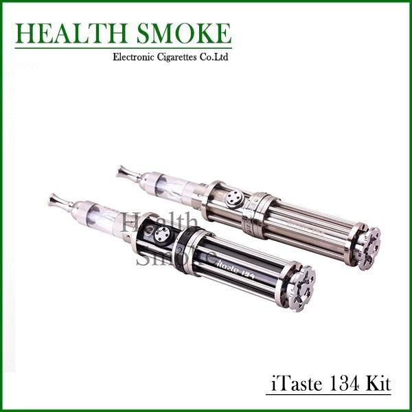 10 unids genuino más nuevo Innokin iTaste 134 E cigarro kit 510 hilo Iclear pyrex glasstube con potencia Variable envío gratis