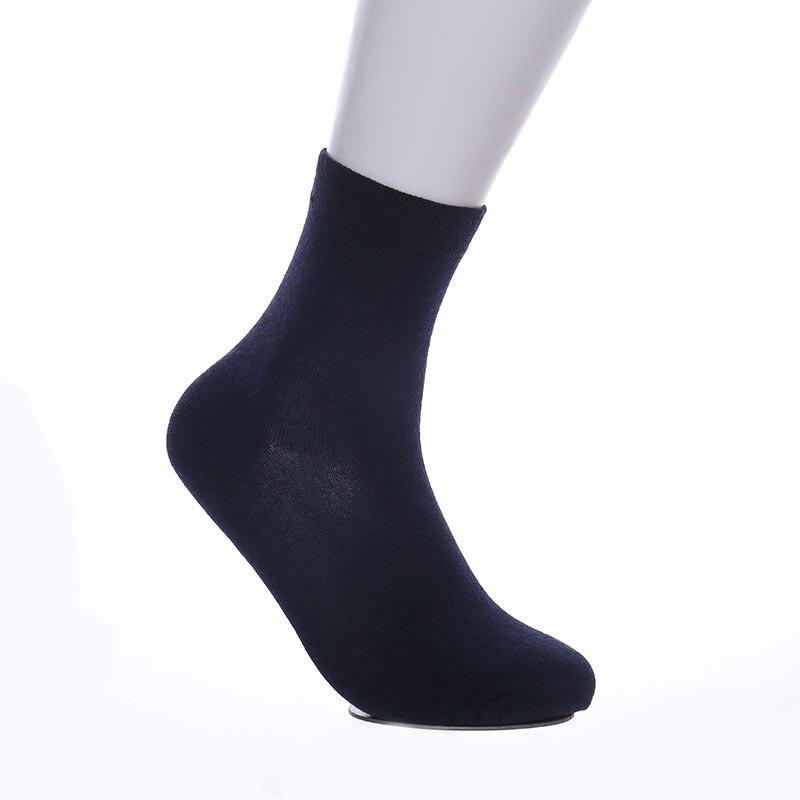 5 Pairs Lot Men Socks 2019 New Casual Business Anti Bacterial Deodorant Breathable Sweat Absorbent Tube Stocking Men Long Sock in Men 39 s Socks from Underwear amp Sleepwears
