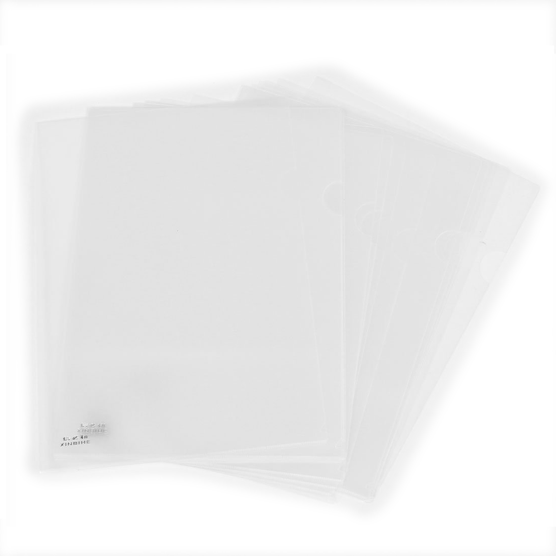 SOSW-Reuseable Clear File Folder Holder For A4 Paper Document 20 Pcs