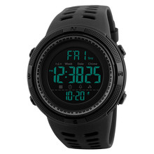Men's outdoor sports watch Digital luminous waterproof LED electronic watch multi-function student watch все цены