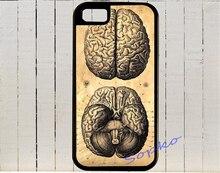 Анатомические Медицинской Disection Как Половинки Мозга Case cover for iphone 4 4S 5 5S 5C SE 6 плюс 6 s плюс 7 7 плюс и zz54