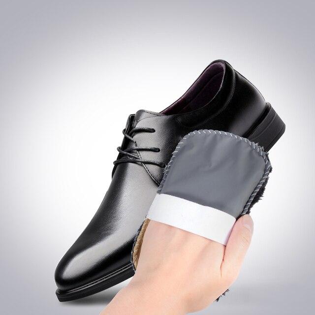 CARRYWON รองเท้าทำความสะอาดรองเท้า Care แปรงขนสัตว์ Plush รองเท้าถุงมือเช็ดรองเท้ากระเป๋าถือ Mitt Suede เครื่องมือทำความสะอาดในครัวเรือน