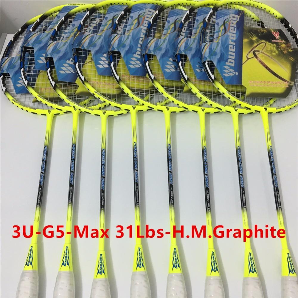 3U professional badminton racket G5 carbono badminton rackets racquet