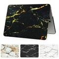 2016 nova mármore caso capa para macbook air pro retina 11 12 13.3 Bolsa Para Laptop de 15 polegada para Mac Livro 13 com 15 Toque Bar