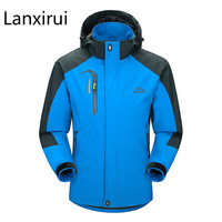 Casual Jacket Men 2018 Man 'S Spring Autumn Army Waterproof Windbreaker Jackets Male Breathable Uv Protection Overcoat 5xl