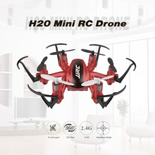 JJR / C H20 2.4GHz 4 csatorna 6 tengelyű Gyro Mini Drone RTF Hexacopter RC Quadcopter CF Fejlesses mód 3D Flips & Rolls