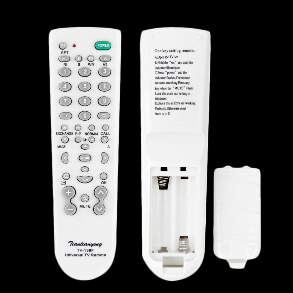 TV Remote Control Controller For TV Television Sets Wholesale Dropshipping Hot New Portable Universal TV Control Accessories