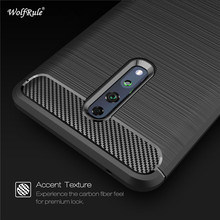 For OPPO Reno Z Phone Cover Shockproof Soft TPU Brushed Back Case For Oppo Reno Z Fundas Oppo Reno Z PCDM10 Coque 6.4