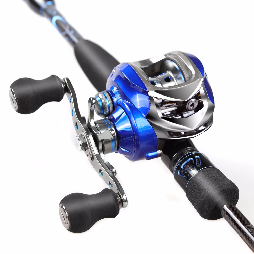 2.1m Fishing Rod Combo 46T Carbon Rod Baitcasting Fishing Rod 2 Sections Fishing Rod Set Red Left /Right Hand Bait Casting Reel 12 1bb 6 3 1 left right hand casting fishing reel cnc fishing reels carp bait baitcasting carretilha de pesca molinete shimano