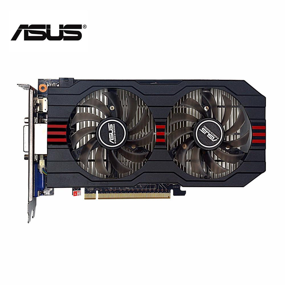 Used,original ASUS GTX 750TI 2G GDDR5 128bit HD video card,100% tested good!
