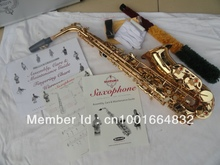 The factory wholesale- -Students suzuki alto saxophone gold plated for surface electrophoresis paint gold brass instruments