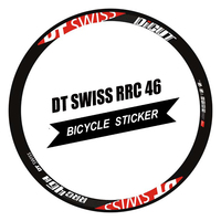 Bike Rim Decals 700C 50mm Rim Wheel Sticker Road Bicycle Stickers Cycle Reflective Road Wheels Decal for Rrc 46