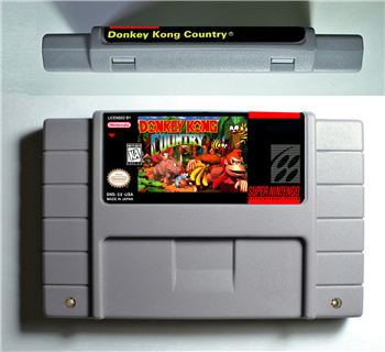 Esel Land Kong 1 2 3 oder Wettbewerb Patrone-ARPG Spiel Batterie Sparen Sie UNS Version