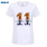 GILDAN Women T Shirts Stranger Things Strange Number 11 Design Digital Printed 100 180 Gsm Combed