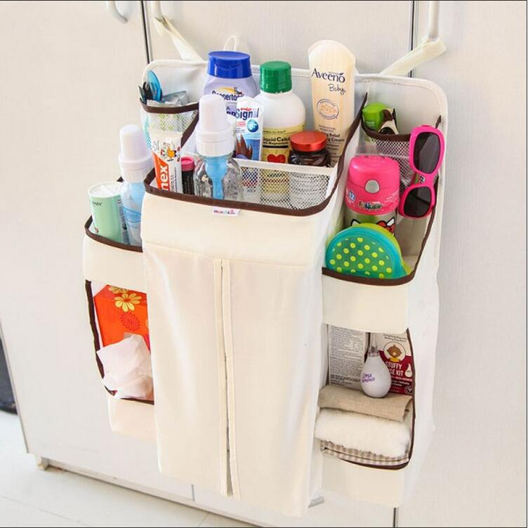 Baby Diaper Nappy Pockets Babies Receive Baby Bedding Set Cribs Hang Bags Storage Bag Organizer Hanging Up