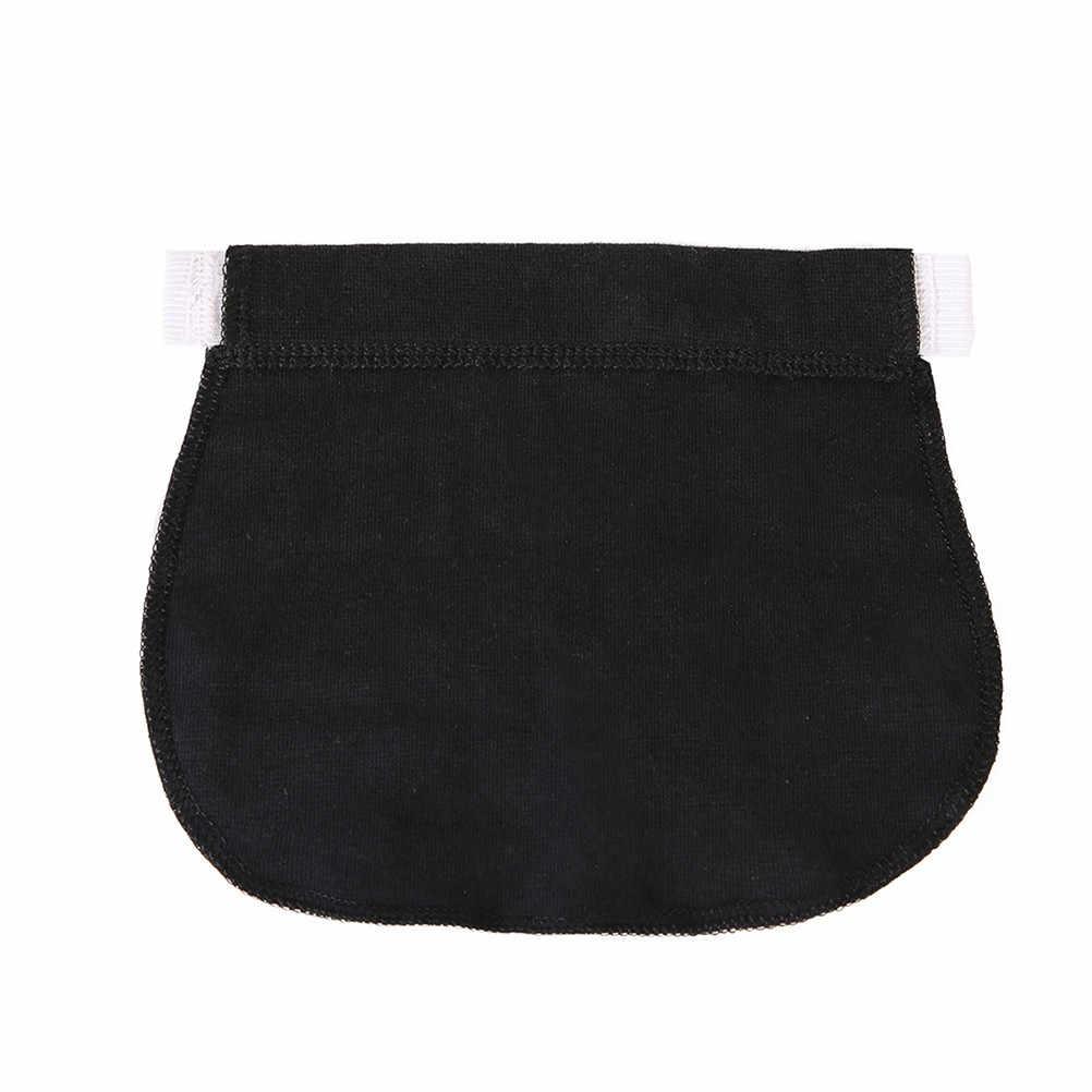 1/3Pcs Maternity Pregnancy Waistband Belt Elastic Waist Extender Waist Extender Pants Hot New Black/Navy Blue/Khaki