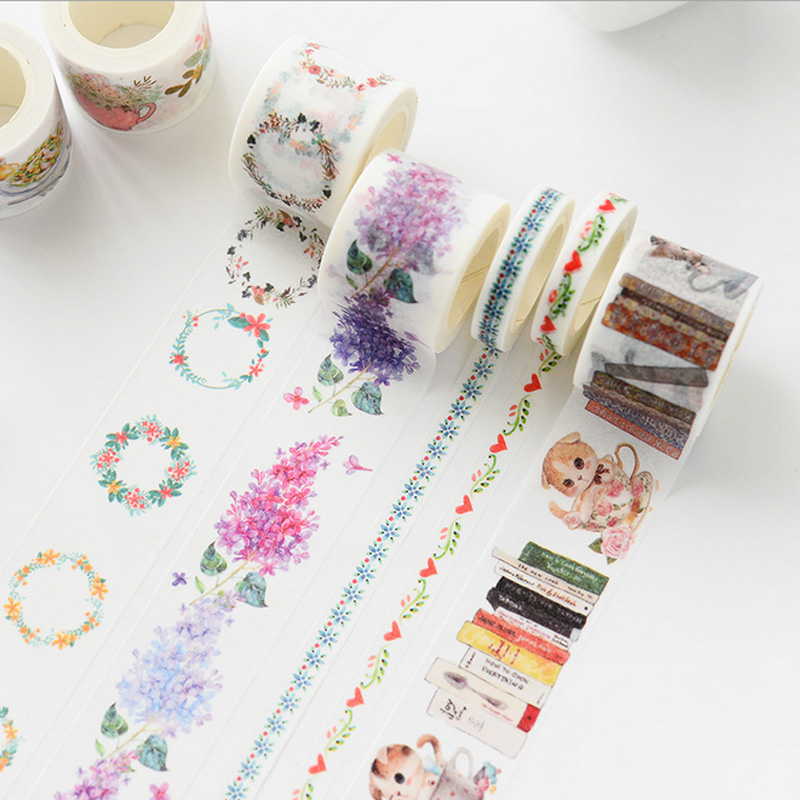 3cm*7m Vintage Cat Constellation Washi Tape DIY Decorative Scrapbooking Planner Masking Tape Adhesive Tape Kawaii Stationery