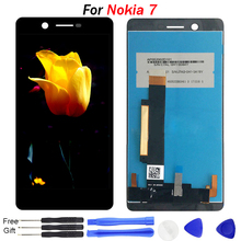 Original For Nokia 7 Display screen TA-1041 N7 Screen Display Touch Screen Digitizer Assembly For Nokia7 LCD Display with Tools недорго, оригинальная цена