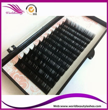 New style,fashion style,0.07mm J/B/C/D curl 5 trays/lot 3D 6D volume lashes false eyelash extension