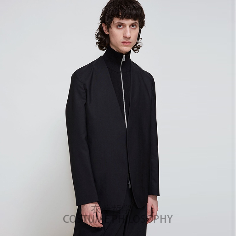 Cuello Gd De Minimalismo Hombre traje Trajes Pelo Ropa 5xl 2019 Plus Moda V  Estilista S Negro Nueva Cantante Tamaño IHfqOwx0 44d4499e2ee