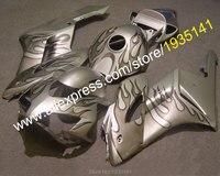 Hot Sales For Honda CBR1000RR 2004 2005 CBR 1000RR Flame CBR1000 04 05 Silver Motorcycle Aftermarket