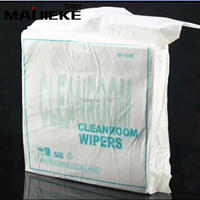 400PCS Bag Lab Phone LCD Screen Soft Cleanroom Wiper Cleaning Non Dust Cloth Dust Free Dispossable