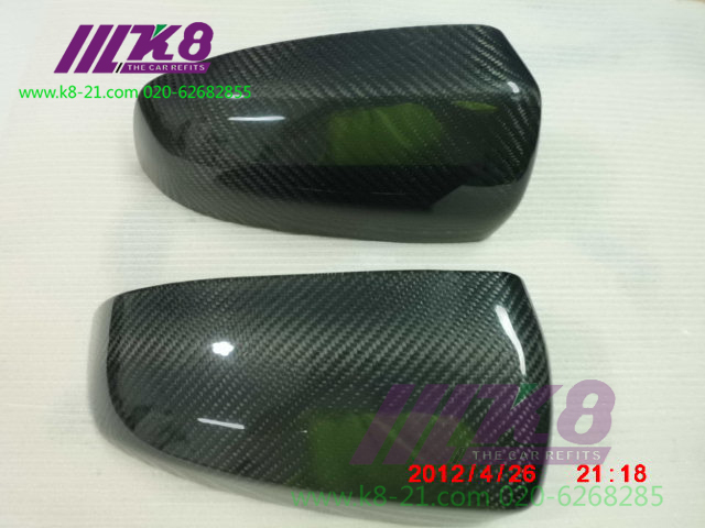 Carbon Fiber Mirror Covers for BMW X6
