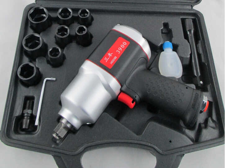 1/2'' 900N.M Industrial Pneumatic Wrench Durable Impact Air Wrench Portable Small Wind Gun Pneumatic Tool