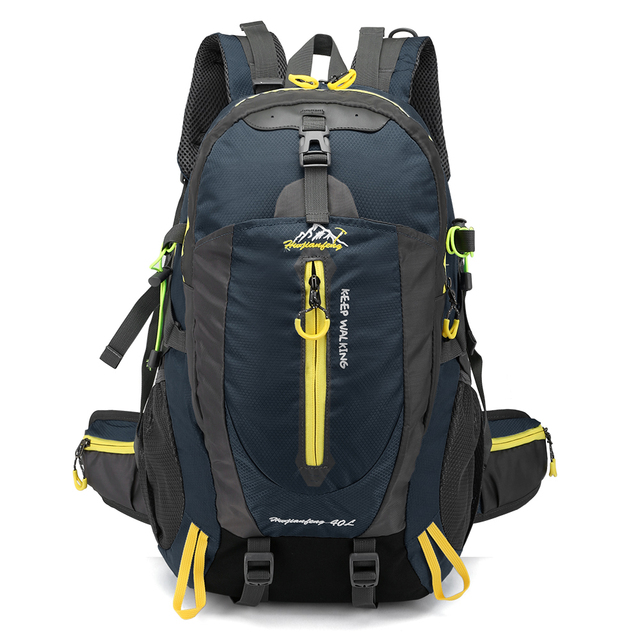 40l Waterproof Climbing Backpack Bike Bicycle Bag Travel Camp Hike Laptop Daypack Trekking Rucksack Outdoor Men