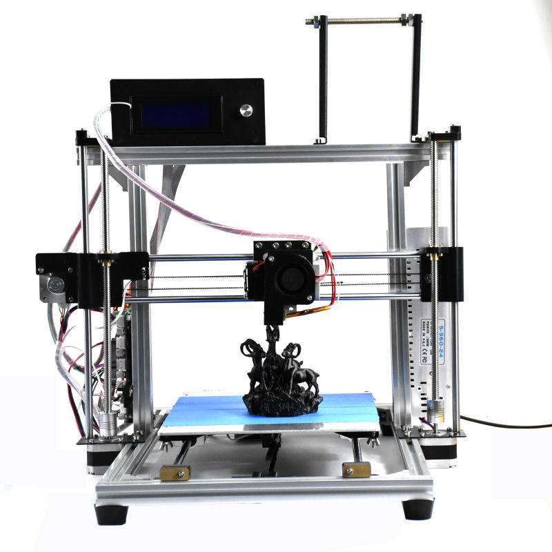 HICTOP Prusa i3 3d printer, Auto Leveling, High Printing Speed 30-70mm/s