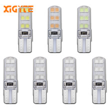 Car Styling T10 W5W Canbus Led Light Bulbs 12 SMD 2835 White DC12v Clearance Break Lights LED Turn Signal Lamp Reverse Light(China)