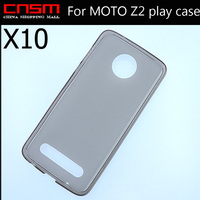 10 Lot Support Online Tracking New Clear Silicone Case Crystal Skin Cover For MOTO Z2 Play
