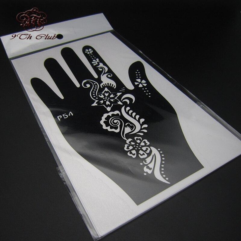 2 para šablona za šablonske tetovaže, lijeva desna velika šablona - Tetovaže i tjelesna umjetnost - Foto 4